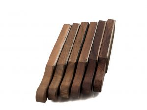 Leather and Wood Strops