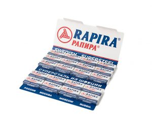 Rapira Swedish Super Steel Razor Blades