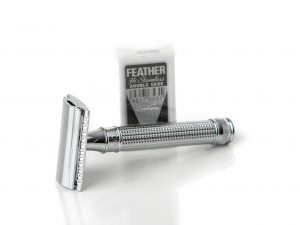 Edwin Jagger 3D Laser Diamond Safety Razor with Blades