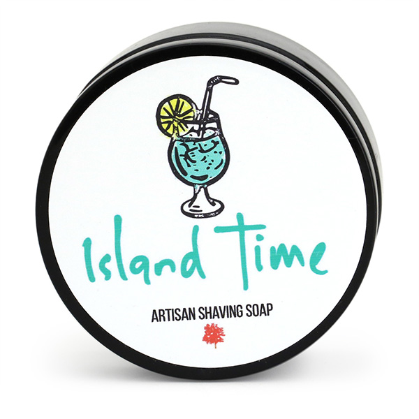 ISLAND TIME Shaving Soap