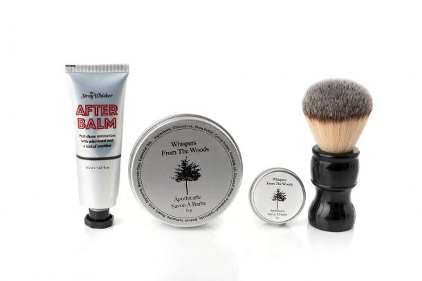 Wet Shaving Synthetic Brush Gift Pack