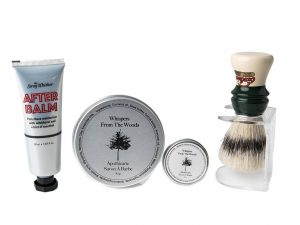 Wet Shaving Boar Brush Gift Pack