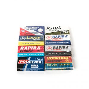 Sample Pack of Double Edge Razor Blades