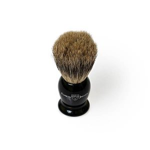Badger Travel Brush Black Edwin Jagger
