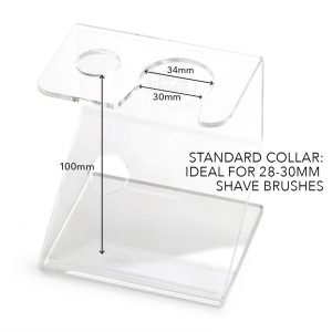 Brush and Razor Stand size