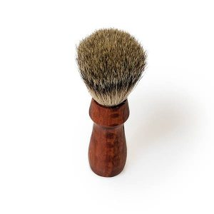 Red Gum Wood Handmade Shaving Brush