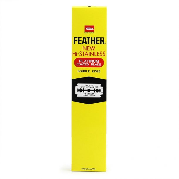 Feather New Hi-Stainless Blades 100 Count