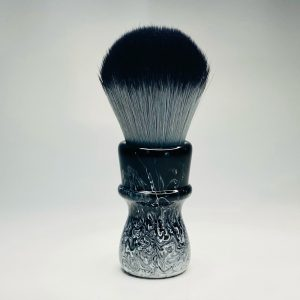 Handcrafted Black and White Shaving Brush