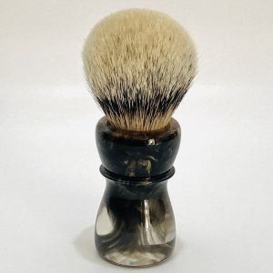 Handcrafted Shaving Brush Gold Copper and Platinum 1